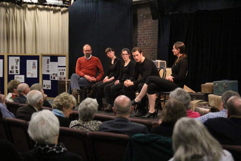 Post show community discussion with cast of '937', a partnerhip with Two Planks and a Passion Theatre - April 2015